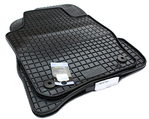 NEU! Gummimatten Seat Ibiza / Ibiza ST 6J Fussmatten Gummi Original Qualität Auto Allwetter 4-teilig schwarz