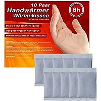 Handwärmer, Taschenwärmer Wärmekissen Wärme-Pads für Handschuhe und Skifahren bis zu 8 Stunden wohltuende Wärme gegen kalte Hände und Finger, 5-10-20-30 Paar