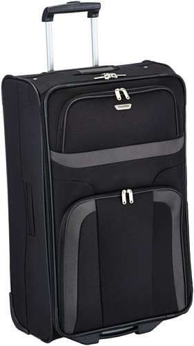 Travelite Roller Case 098489 Orlando 2Wheel Trolley Large 80 Liters (47 x 73 x 26 cm) Black 98489