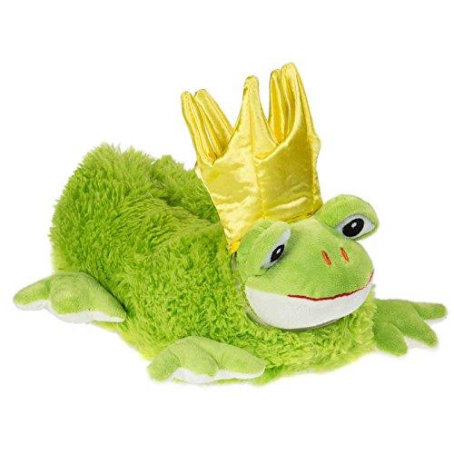 Funslippers Damen Hausschuhe Tierhausschuhe Puschen Pantoffeln Schlappen Frosch Prinz Plüsch Warm Innensohle Gepolstert Sneakersohle Rutschfest M 39/41 EU (Neben Kaninchen Hausschuhe)