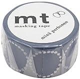 Mt Washi Masking Tapes MT Mina Perhonen - Tambourine Petit . Navy by Mt Masking Tape