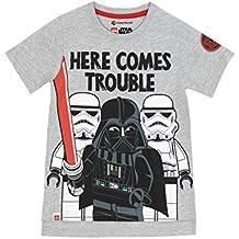 ff86291435 LEGO Star Wars Jungen Star Wars Darth Vader T-Shirt Size 134 cm