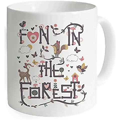 okoukiu Fun in the Forest Mug tazza -3,7