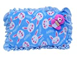 #5: Safe N Cute Newborn Baby Elephant Super Soft Velvet Full Sleeping Set With Duvet (Pink Skyy) Age( 0 - 36 Months) (Demanded Product) / For 0 to 3 years Kids