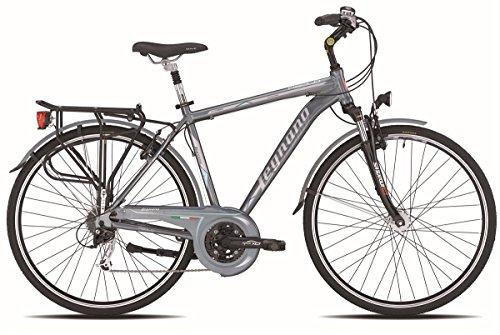 LEGNANO BICICLETA 400ASOLO GENT DINAMO 24V TALLA 60GRIS (CITY)/BICYCLE 400ASOLO GENT DYNAMO 24S SIZE 60GREY (CITY)