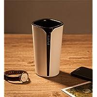 Spatial Element Smart Wasserflasche Erinnert Trinkwasser 400Ml Breiten Mund Wasserdicht Ohne BPA Smart Cup mit Timer und LED-Bildschirm