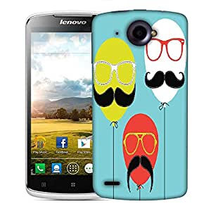 Snoogg Movember Balloon Designer Protective Back Case Cover For Lenovo S920
