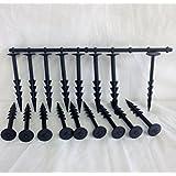 Clavijas para tela de 15,24cm para control de maleza Yuzet ancla de fijación para el suelo