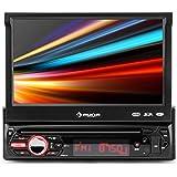 """auna MVD-310 Autoradio Bluetooth (écran tactile motorisé 17.8 cm de 7"""", puissance de 4 x 25 watts RMS, port USB et slot de carte SD)"""