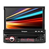 auna MVD-310 • autoradio FM • Moniceiver • écran tactile 17,8 cm ('7') • Bluetooth • ports USB & SD • MP3, MP4, MPEG4, WMA • luminosité LED programmable • télécommande • entièrement détachable • noir