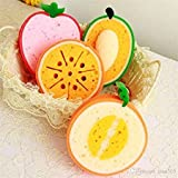 Perfect Fruit Shape Bath Sponge Bath Loofah Bath Scrub - Set of 2 (Random designs will be sent) By Perfect Pricee ™