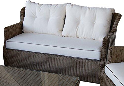 braun rattan polyrattan loungem bel garten online kaufen m bel suchmaschine. Black Bedroom Furniture Sets. Home Design Ideas