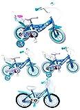 Kinderfahrrad Disney Frozen - Die Eiskönigin in 12, 14, 16 oder 20 Zoll blau weiß Mädchen Fahrrad