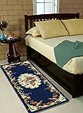 #5: Ms Nakhro Velvet Kitchen/Bedside Runner - 60 X 150 CM, Blue