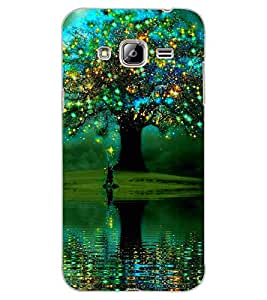ColourCraft Amazing Tree Design Back Case Cover for SAMSUNG GALAXY J3 (2016)