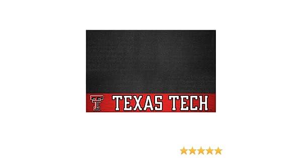 FANMATS NCAA Texas Tech University Red Raiders Vinyl Grill Mat