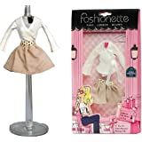 "Fashionette - Look ""Emma"" - Outfits for 11.5 inch mannequin dolls : Barbie, Sindy, Disney Princesses, etc..."