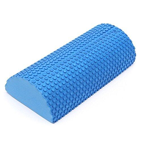 WUYASTA 1 Stück Eva Halbrund Yoga Rolle Schaumstoffrolle Floating Point Fitness Zubehör (30)