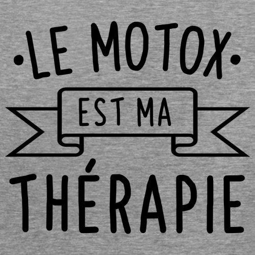 Le motox est ma thérapie - Femme T-Shirt - 14 couleur Gris