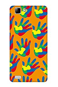 ZAPCASE Printed Back Cover for VIVO V1