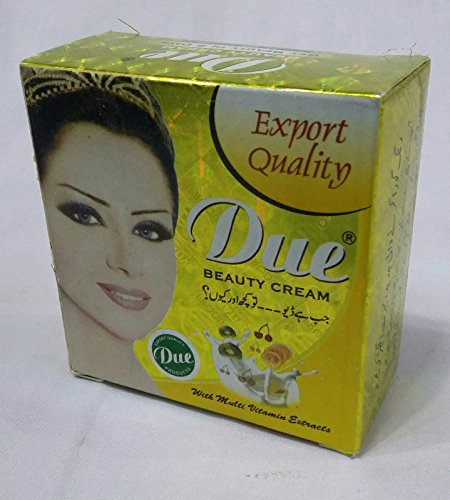 Due Whitening Beauty Cream best for wrinkles, pimples, marks, dark circles