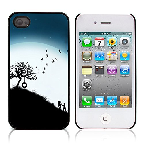 Graphic4You I Will love you Design Harte Hülle Case Tasche Schutzhülle für Apple iPhone 4 und 4S Design #16