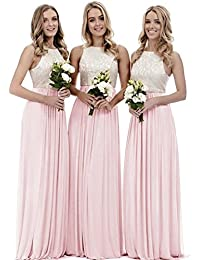 Trauzeugin kleid lang rosa
