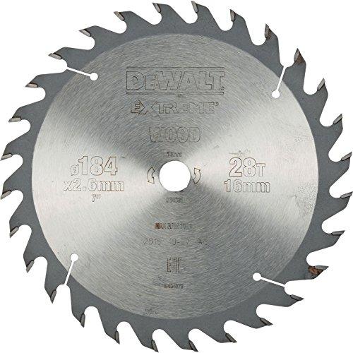 Preisvergleich Produktbild DeWalt Stationärkreissägeblatt / Kreissägeblatt Extreme (400 / 30mm 60WZ,  universeller Einsatz und Querschnitte),  DT4338