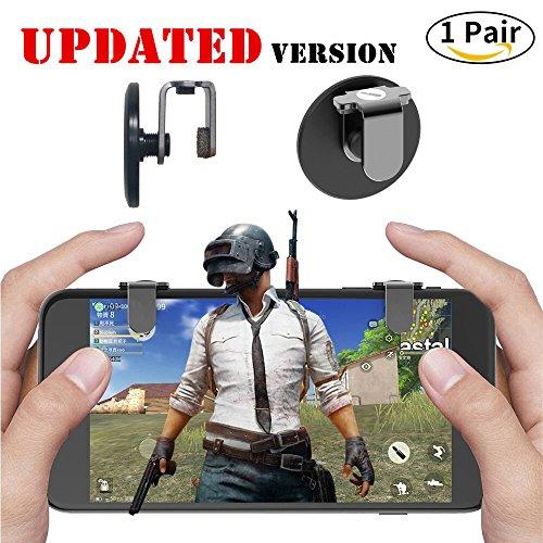 Mobile Game Controller Ultra-sensitiver Ziel Tasten und Shoot für pubg/Messer Out/Rules Of Survival, pubg Mobile Game Joystick für Android iOS (1Paar)