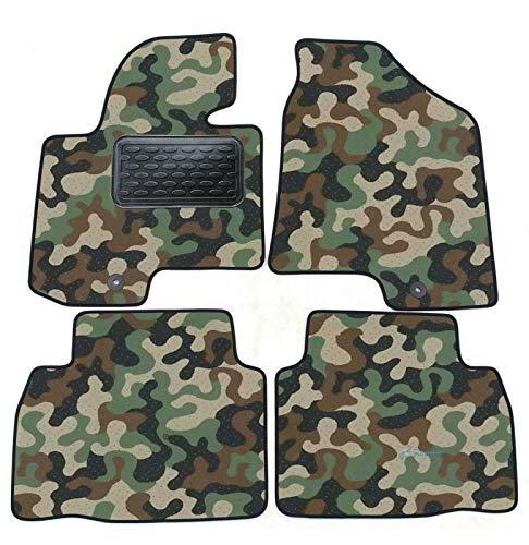 J&J AUTOMOTIVE Armee-Tarnungs Autoteppich Autofußmatten Auto-Matten für Kia Sportage 2010-2015