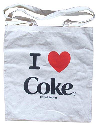 Coca Cola - I love Coke - Einkaufsbeutel - Stoffbeutel