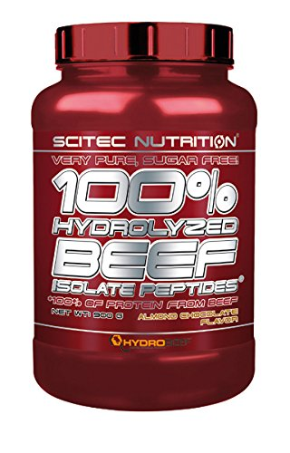 Scitec Nutrition 100{8e182372ba7f9df524eab090ad9c6750b45de8a57ea4ef43311ddde46bebe891} HYDROLYZED BEEF ISOLATE - Almond Chcolate - 900g