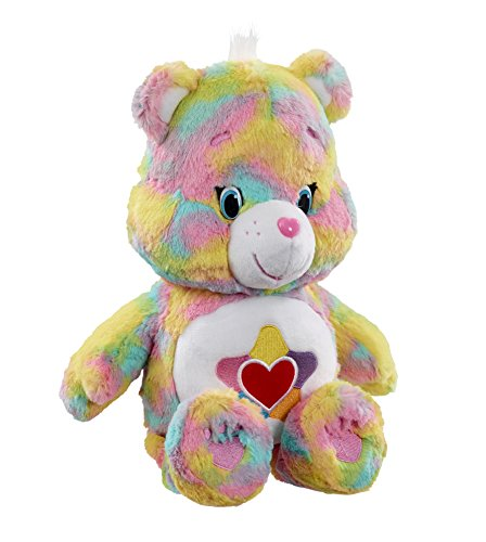 Image of Vivid Imaginations Care True Heart Bear Plush Toy with DVD (Medium, Multi-Colour)