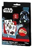 Craze 55701 - Tattoo Box Star Wars, 14 Bögen, sortiert