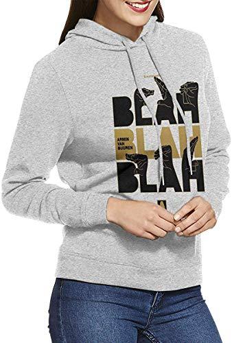 Armin Van Buuren Womens Long-Sleeve Lightweight Hoodie Shirt Sweatshirt Rundhalsausschnitt