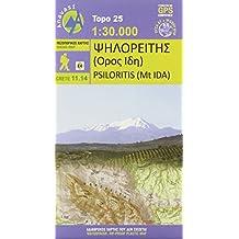 Psiloritis - Idagebirge 1 : 30 000: Topografische Bergwanderkarte 11.14. Griechenland