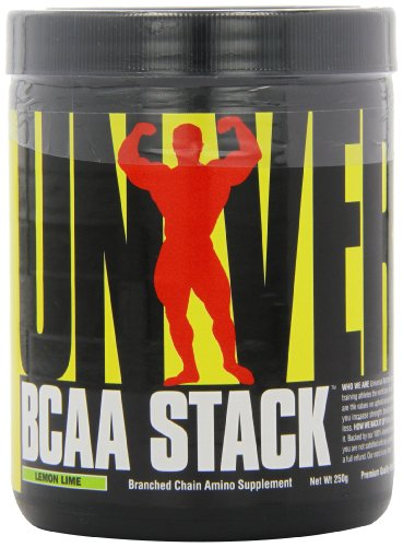 Universal Nutrition, BCAA Stack Lemon Lime, 250 g (Bcaa Pulver Stack)