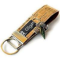 Schlüsselanhänger Sylt aus Kork