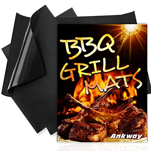 Ankway BBQ Grill Mat Set of 3, T...