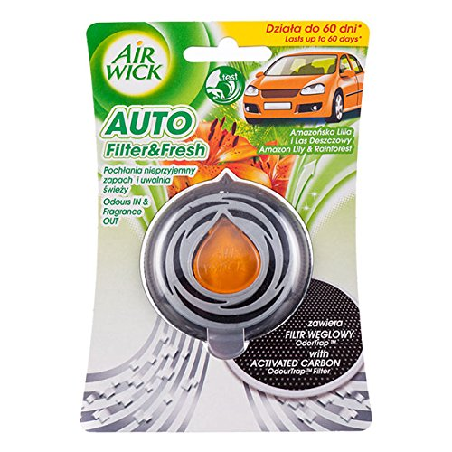 Air Wick voiture Filtre & Fresh Amazon Lily & Rainforest