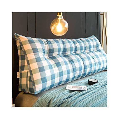MH-Cushions Kissen, Bettkissen Großen Rücken Doppelbett Auf Tatami Bett Kopfteil Softbag Einfache Rückenkissen Dreieck Taille Kissen (Color : V, Size : 60x20x50cm) -
