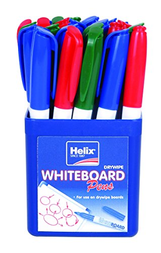 Helix 745746 standard - Storage pot and markers for slate, various colors