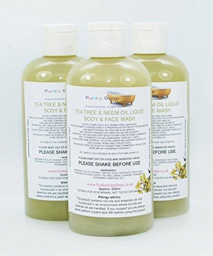 1-bottiglia-tea-tree-neem-liquido-dellolio-corpo-lavaggio-viso-100-naturale-senza-sls-250ml