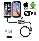 Firstwish WiFi senza fili dell' endoscopio USB OTG Periscopio impermeabile serpente fotocamera Spy Android iOS 6LED immagine