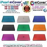 mCover Coque Noir Uniquement pour Ordinateur Portable HP 15.6', série 15-DAxxxx (15 da0056na, etc.) (Taille: 37,6 x 24,6 x 2,25 cm)