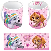 Patrulla Canina - Taza Skye Huellas, 320 ml (United Labels Ibérica 813323)