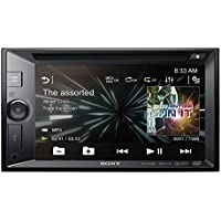 Sony XAVW650BT.EUR 2 DIN DVD Moniceiver 15,7 cm (6,2 Zoll) (Display, CD/DVD-Player, Bluetooth, NFC, Apple iPod/iPhone Control, 4x 55 W) schwarz