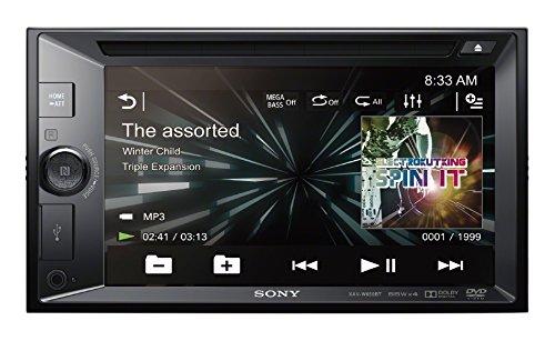 Sony XAVW650BT.EUR 2 DIN DVD Moniceiver 15,7 cm (6,2 Zoll) (Display, CD/DVD-Player, Bluetooth, NFC, Apple iPod/iPhone Control, 4x 55 W) schwarz