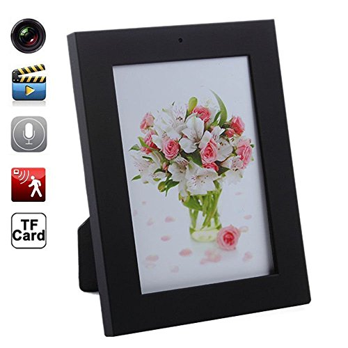 Mengshen® 16GB New Home Photo Frame-Stil versteckte Kamera 1280 × 960 Pixel Spy Cameras MiniDvr Audio Video Recorder AVI Versteckte Camcorder MS-HC19