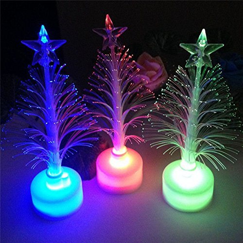ILOVEDIY Changement de couleur LED Arbre de Noël optique Lumière de décoration de Noël Party Décor